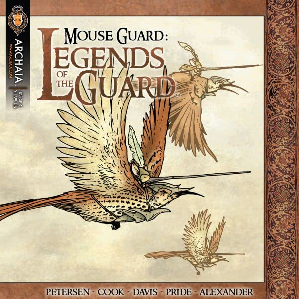 Mouse Guard: Legends of the Guard Vol. 1 #3 (of 4)