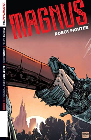 Magnus: Robot Fighter #8: Digital Exclusive Edition