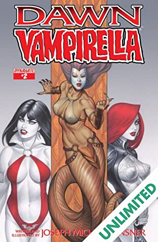 Dawn/Vampirella #2 (of 6): Digital Exclusive Edition