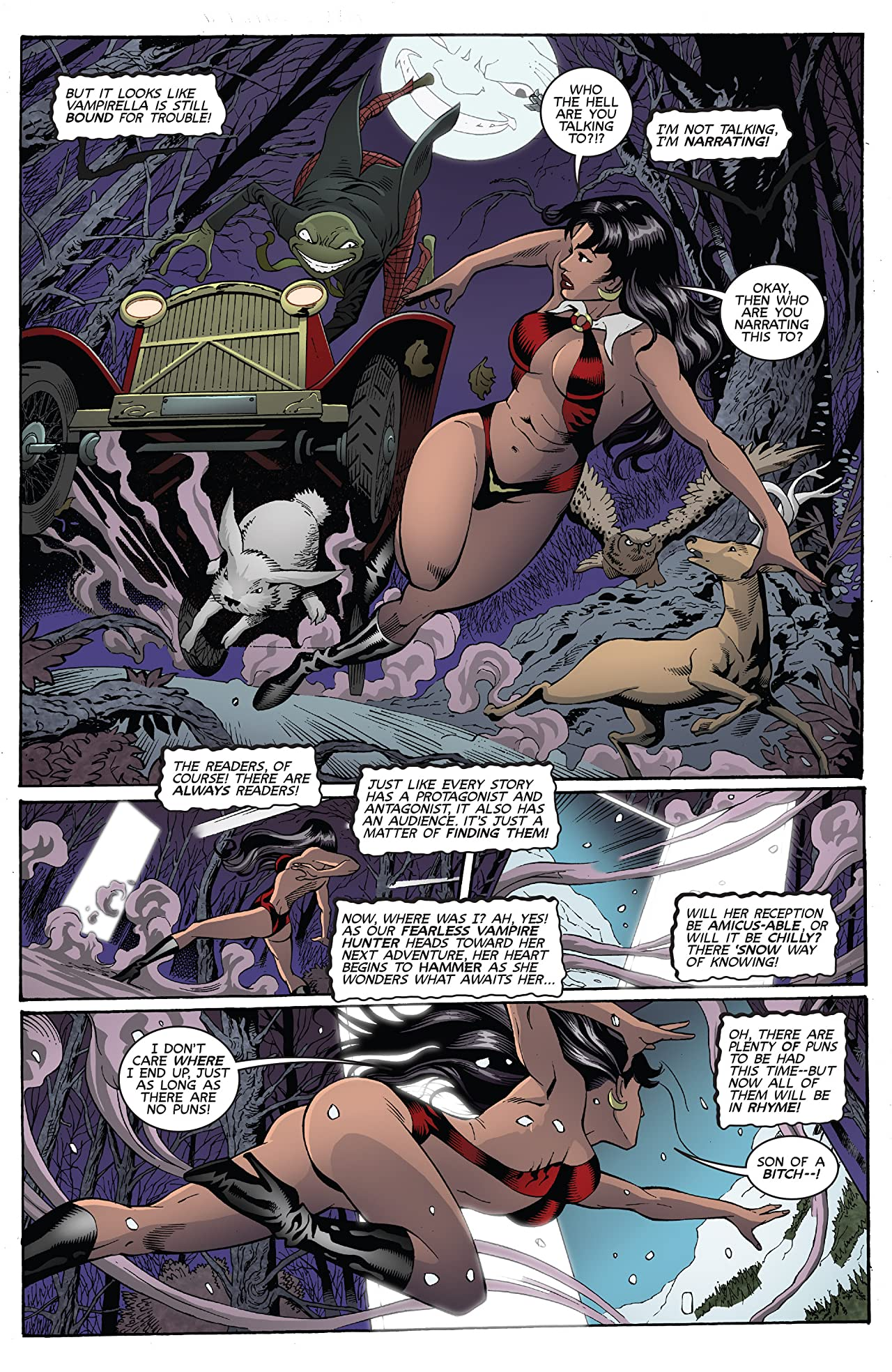 Vampirella: Feary Tales #2 (of 5): Digital Exclusive Edition