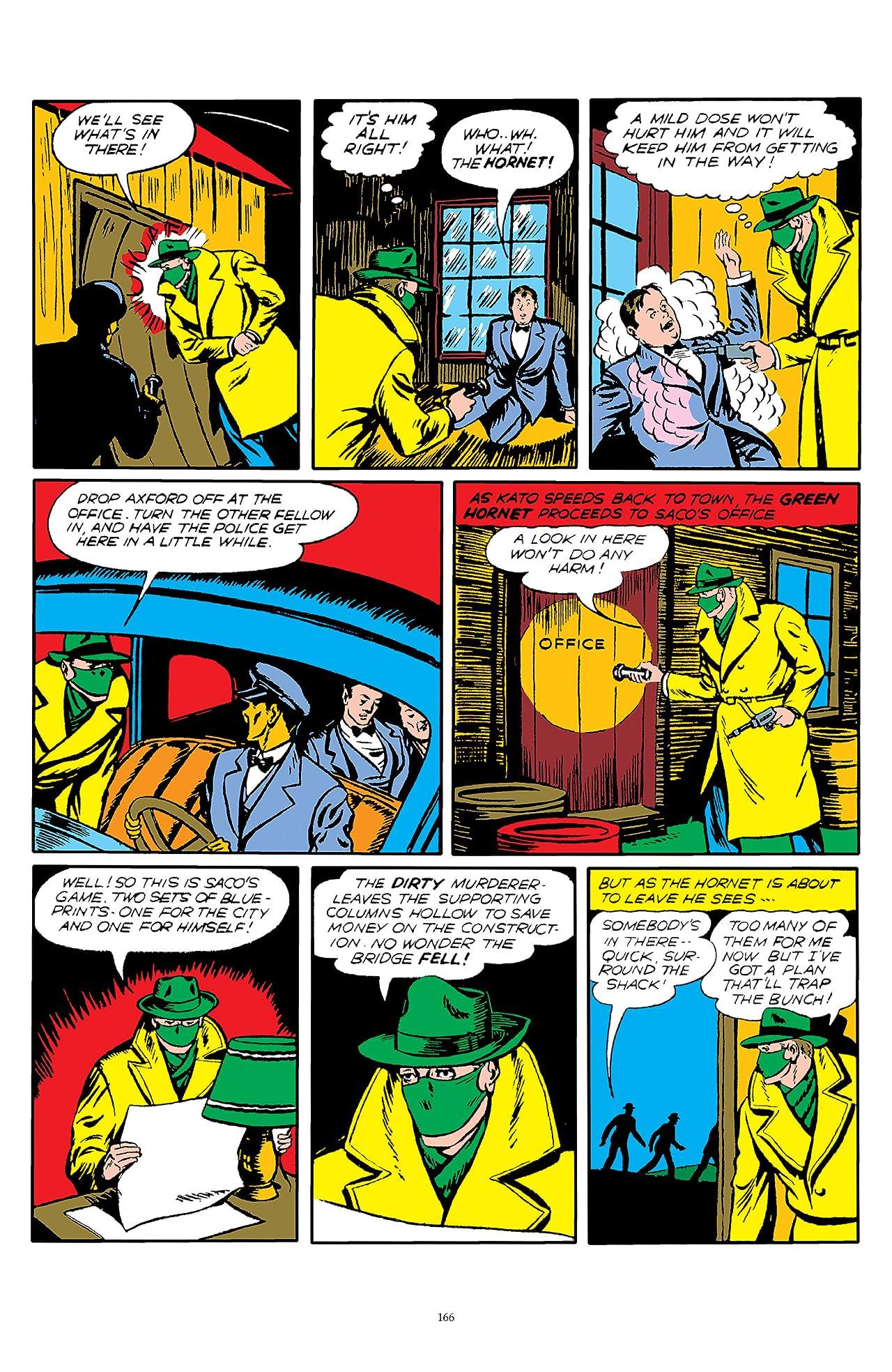 The Green Hornet: Golden Age Re-Mastered #4
