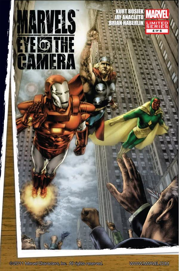Marvels: Eye of the Camera #4