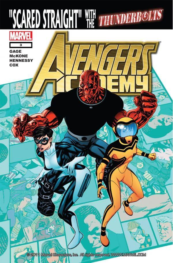 Avengers Academy #3