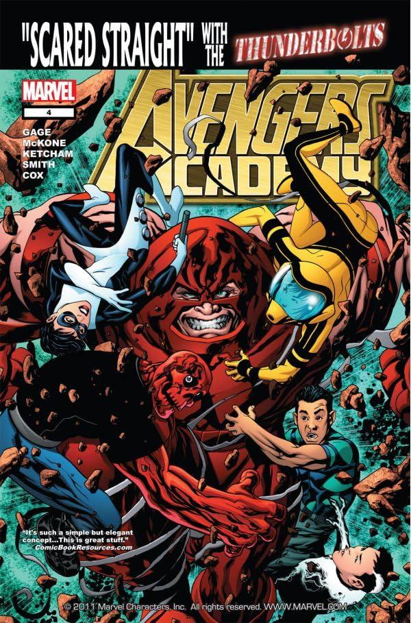 Avengers Academy #4