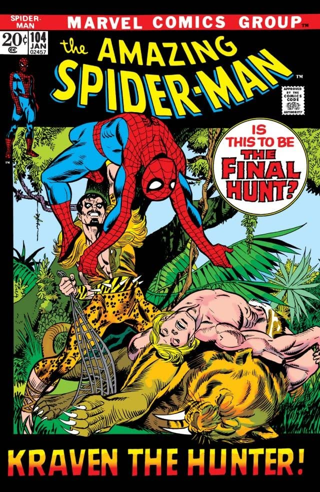 Amazing Spider-Man (1963-1998) #104