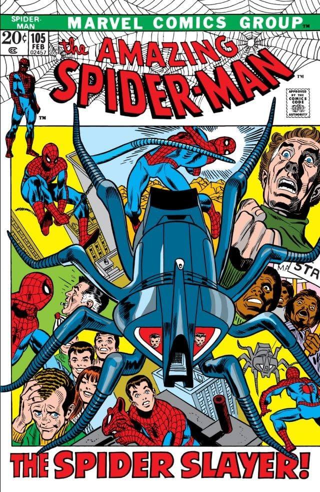 Amazing Spider-Man (1963-1998) #105