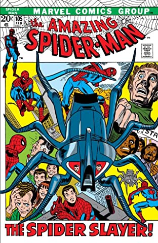 Amazing Spider-Man (1963-1998) #105