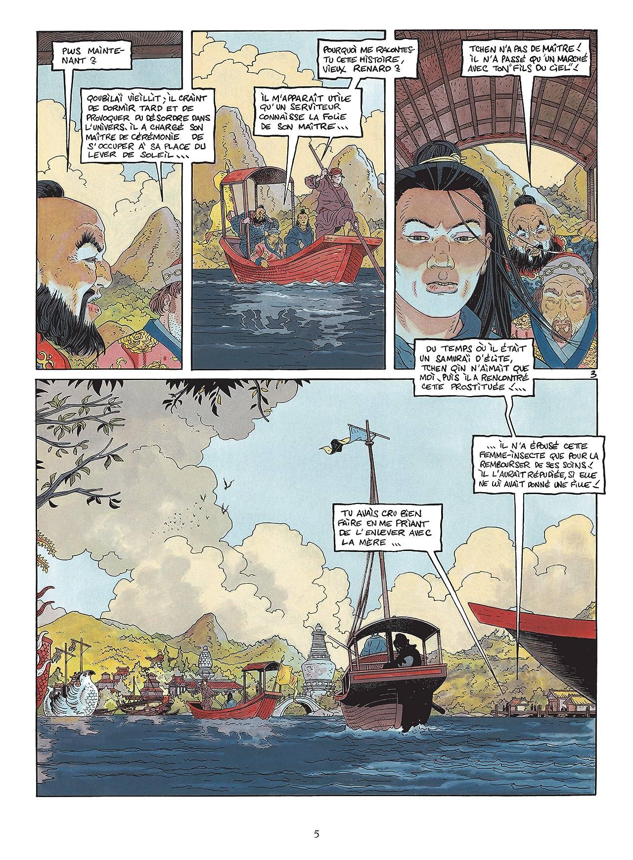 Le vent des dieux Vol. 10: Le Gherkek