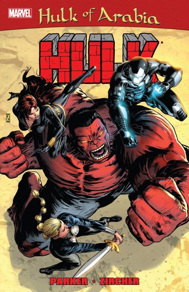 Red Hulk: Hulk of Arabia