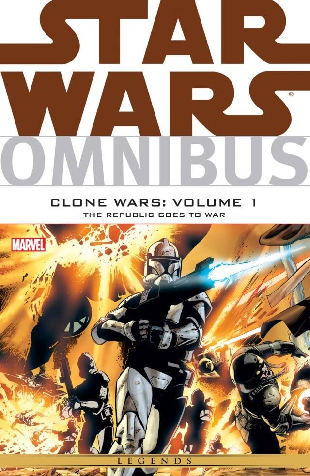 Star Wars Omnibus: Clone Wars Vol. 1: The Republic Goes To War