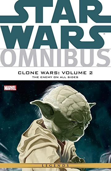 Star Wars Omnibus: Clone Wars Tome 2: The Enemy On All Sides