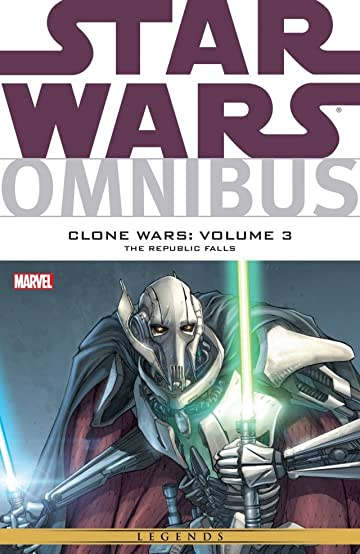 Star Wars Omnibus: Clone Wars Vol. 3: The Republic Falls