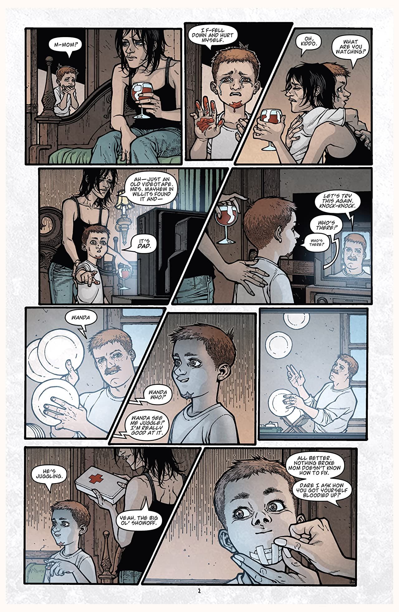 Locke & Key: Crown of Shadows No.6