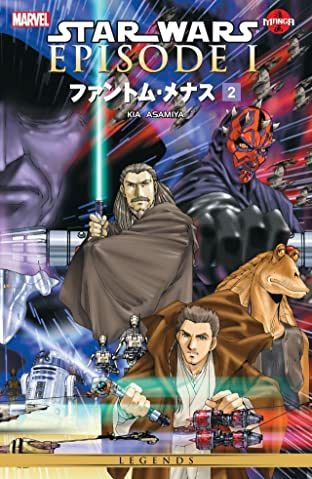 Star Wars - The Phantom Menace Tome 2