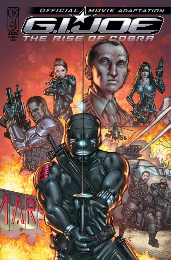 G.I. Joe: The Rise of Cobra #1: Official Movie Adaptation