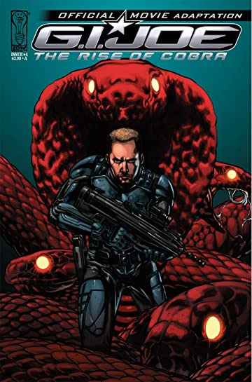 G.I. Joe: The Rise of Cobra #4: Official Movie Adaptation