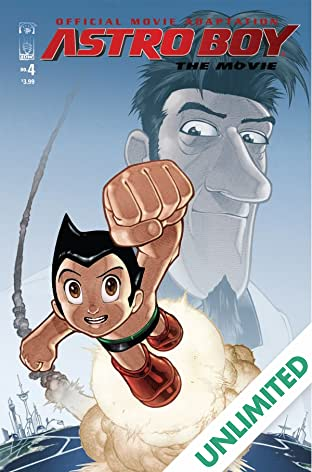 Astro Boy: The Official Movie Adaptation #4