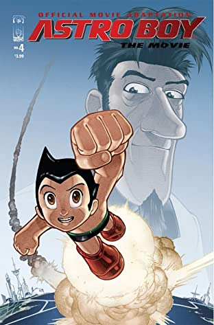 Astro Boy: The Official Movie Adaptation No.4
