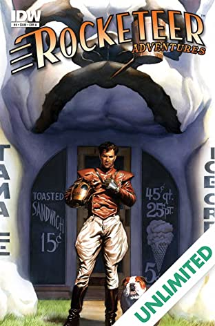 Rocketeer Adventures #4 (of 4)