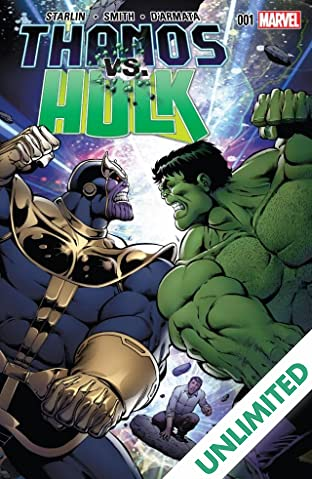 Thanos vs. Hulk #1 (of 4)