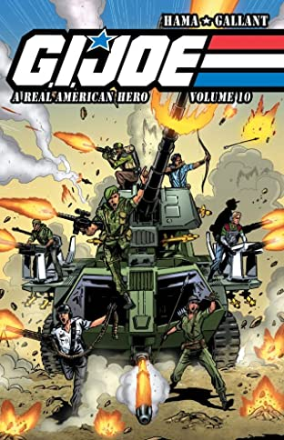 G.I. Joe: A Real American Hero Tome 10