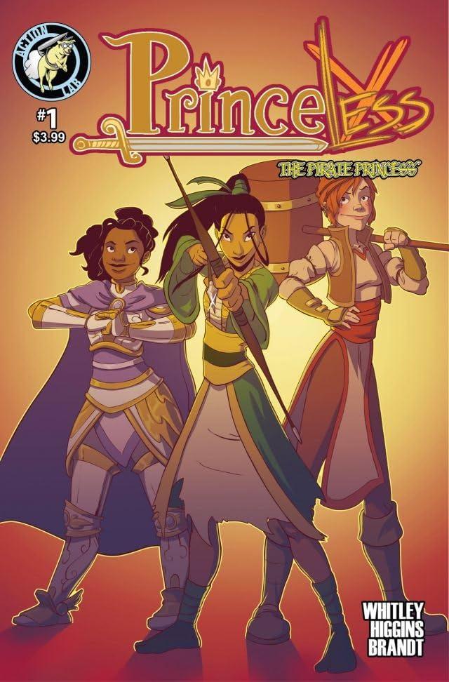 Princeless: The Pirate Princess #1