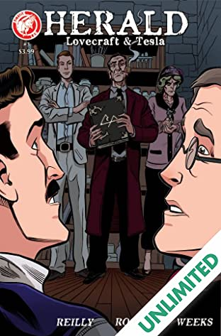 Herald: Lovecraft & Tesla #3