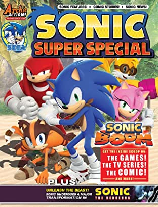 Sonic Super Special Magazine #13