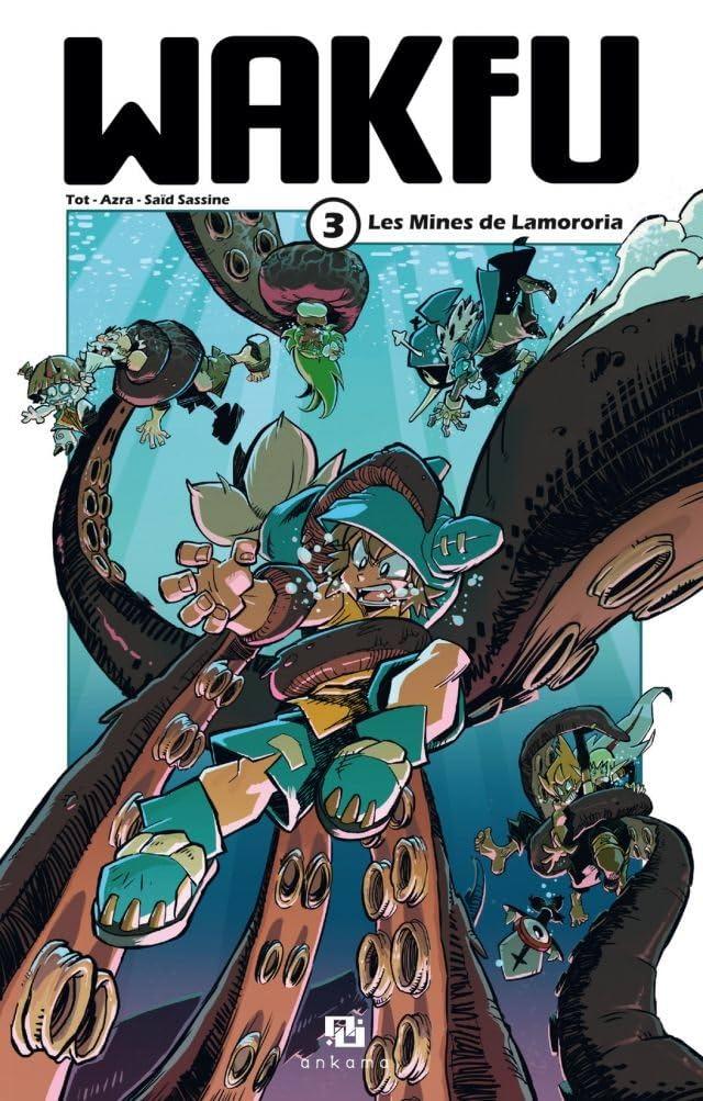 WAKFU Manga Vol. 3: Les Mines de Lamororia