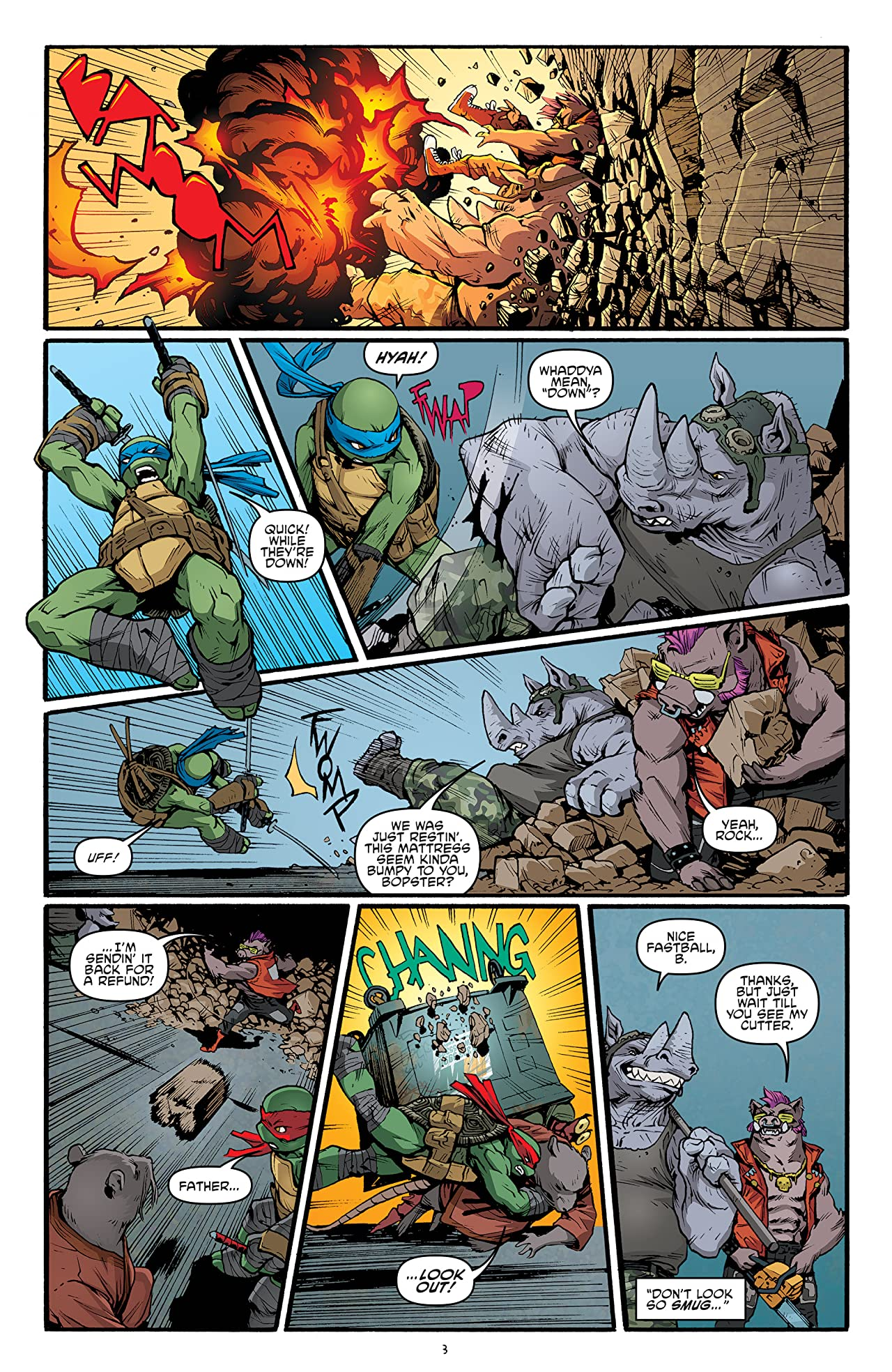 Teenage Mutant Ninja Turtles #40