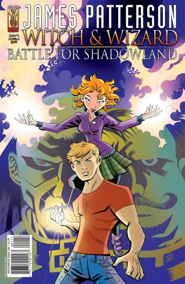 James Patterson's Witch & Wizard: The Battle for Shadowland #1