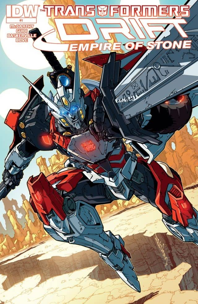 Transformers: Drift: Empire of Stone #1 (of 4)
