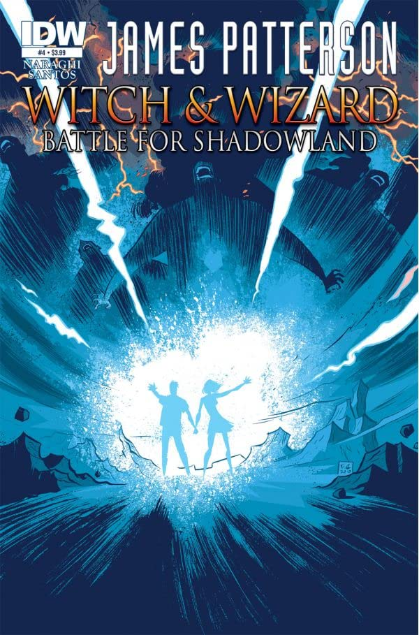 James Patterson's Witch & Wizard: The Battle for Shadowland #4