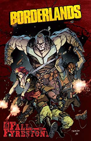 Borderlands Vol. 2: The Fall of Fyrestone