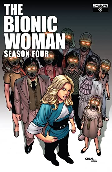 The Bionic Woman: Season Four #3: Digital Exclusive Edition