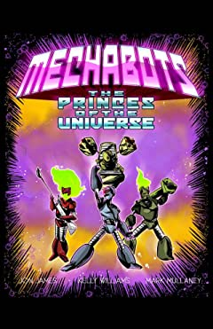Killer Queen, A Comic Anthology: MECHABOTS: Princes of the Universe