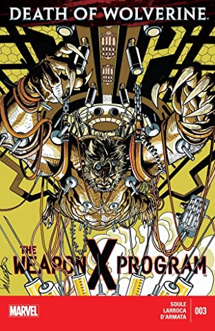 Death of Wolverine: The Weapon X Program #3 (of 5)