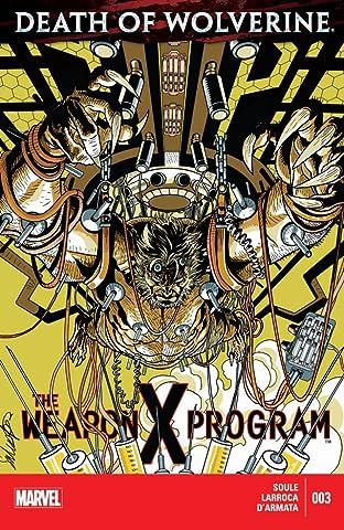 Death of Wolverine: The Weapon X Program No.3 (sur 5)