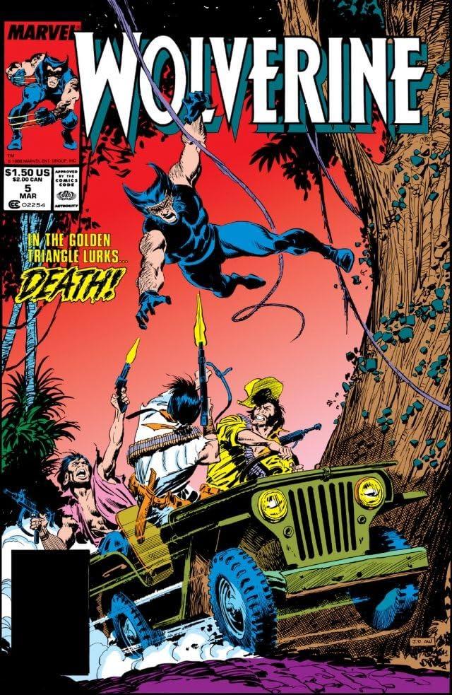Wolverine (1988-2003) #5
