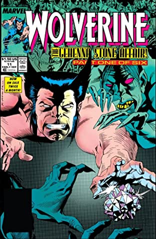 Wolverine (1988-2003) #11