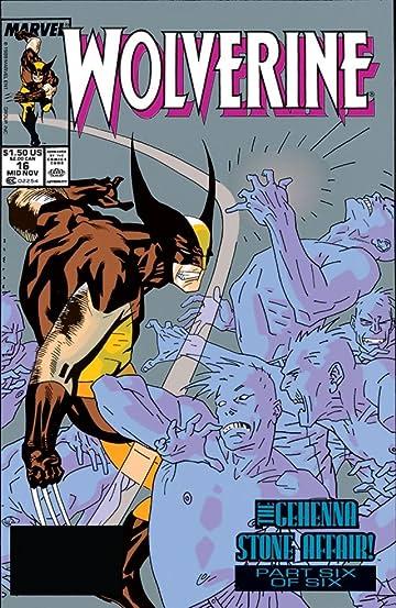Wolverine (1988-2003) #16