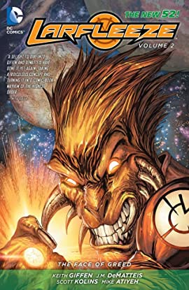 Larfleeze (2013-2015) Vol. 2: The Face of Greed
