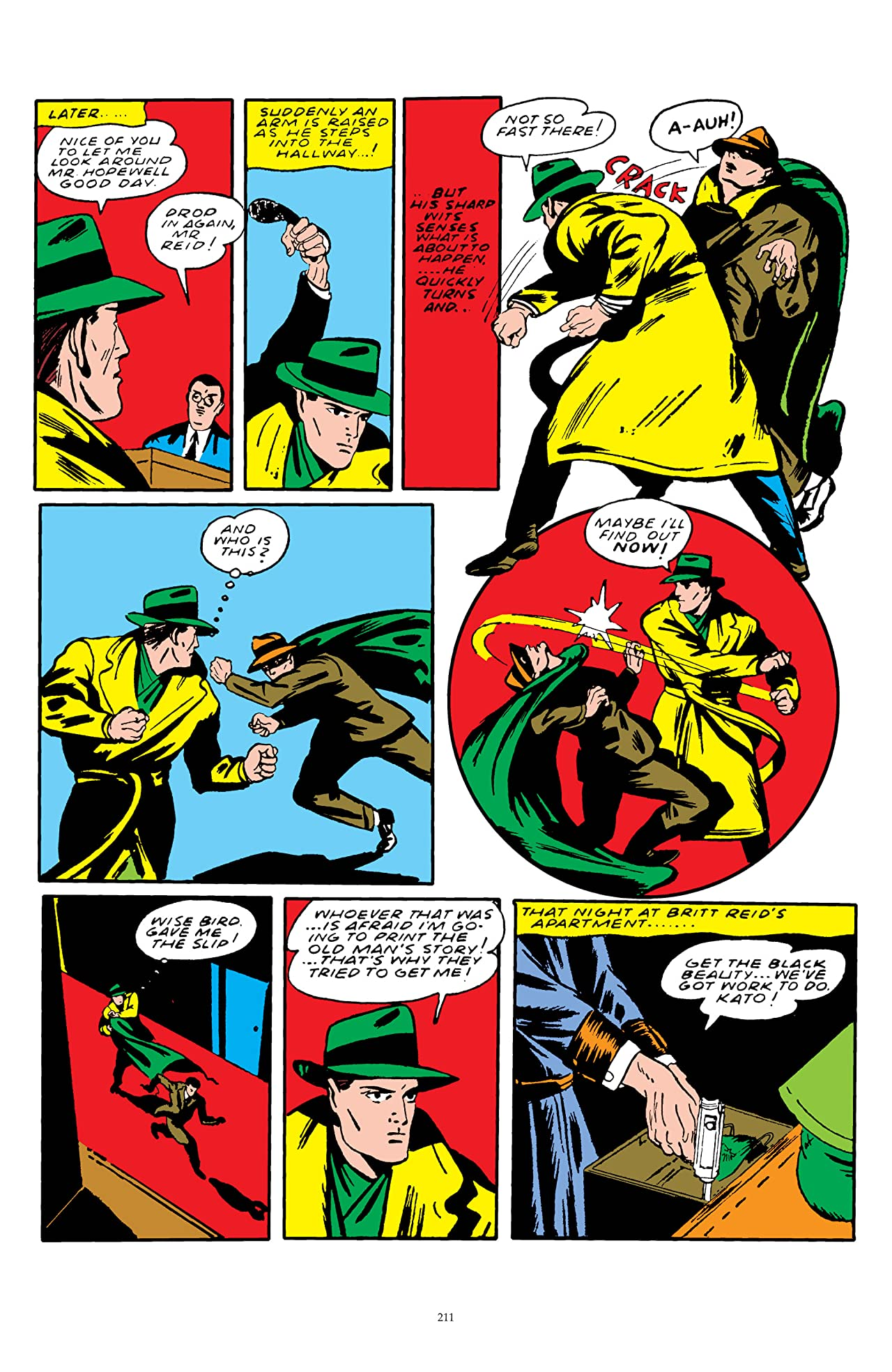 The Green Hornet: Golden Age Re-Mastered #5
