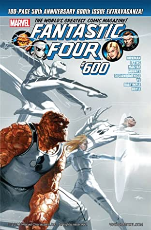 Fantastic Four (1998-2012) No.600