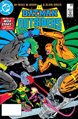 Batman and the Outsiders (1983-1987) #27