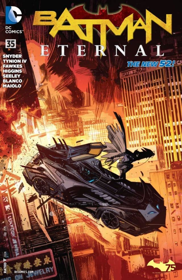 Batman Eternal (2014-2015) #35