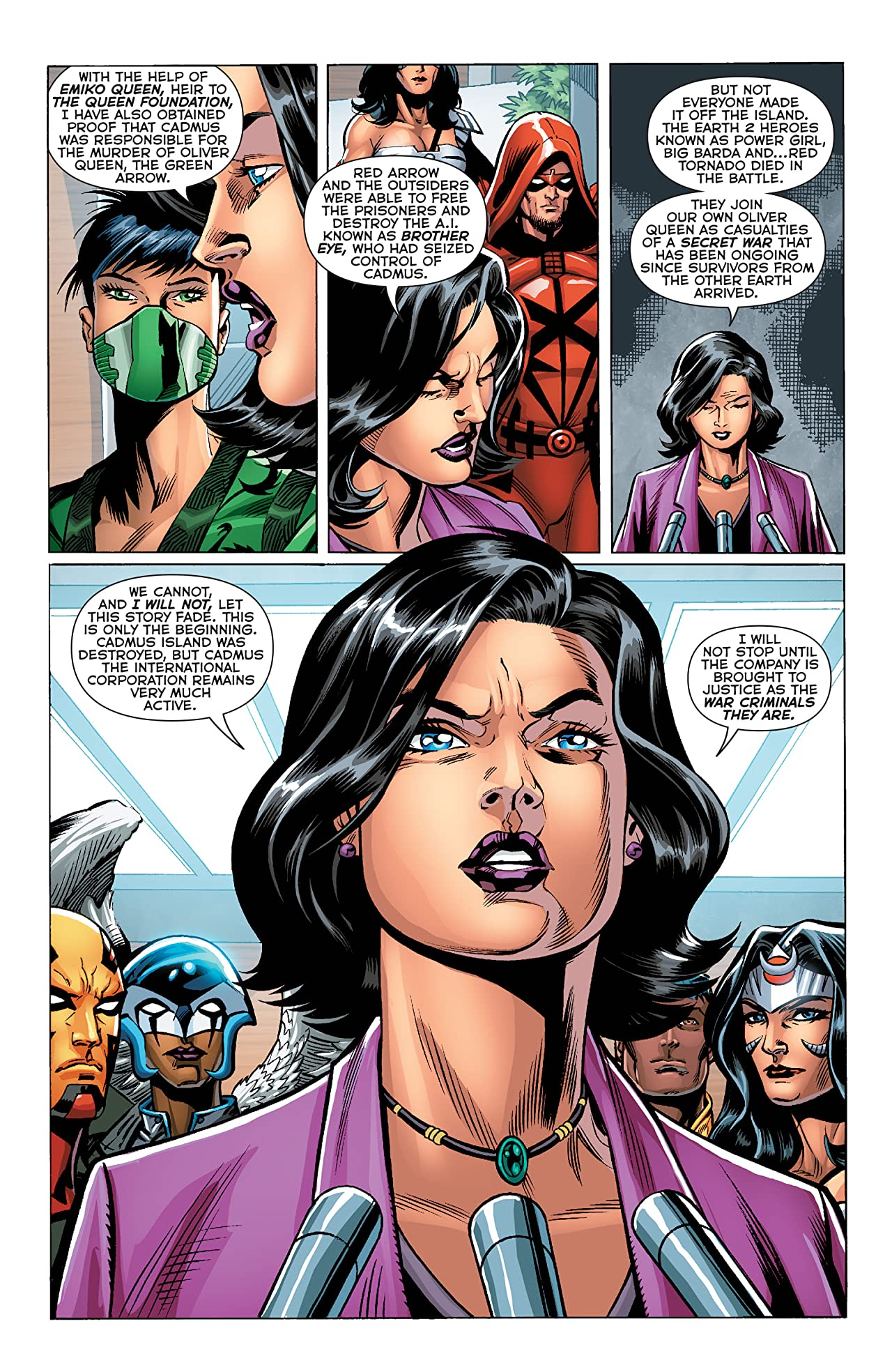 The New 52: Futures End #31