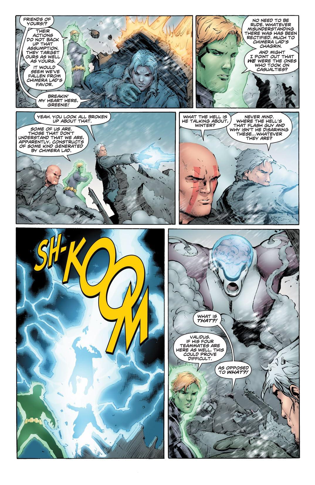 DC/WildStorm: Dreamwar #5 (of 6)