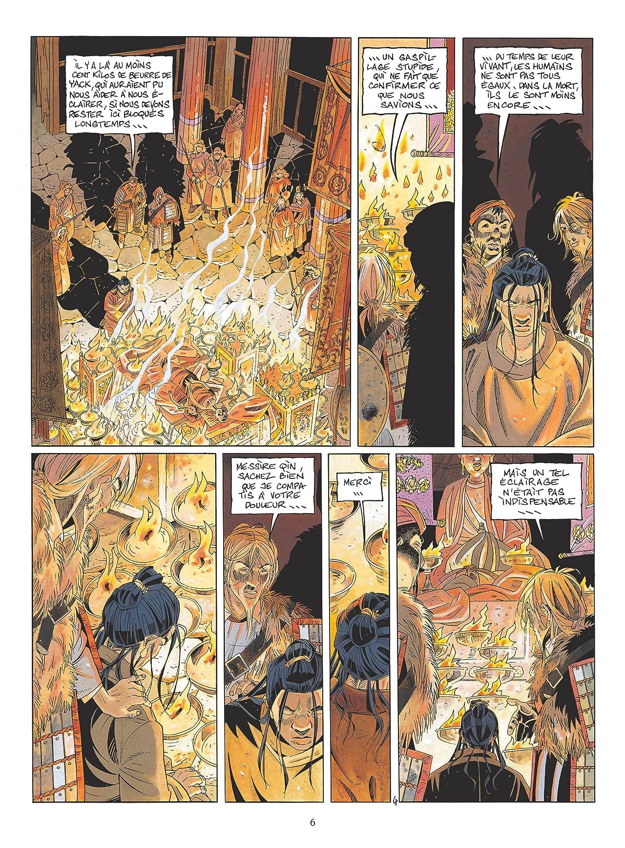 Le vent des dieux Vol. 13: Le Roi du Monde