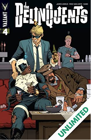 The Delinquents (2014) #4 (of 4): Digital Exclusives Edition